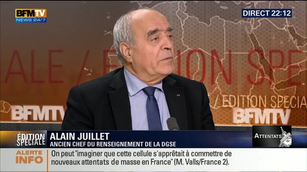 Alain Juillet, Global Security and Intelligence IUHEI