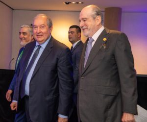 IUHEI - Président IUHEI, M. Armen Sarkissian, M. Abdullah Abdullah